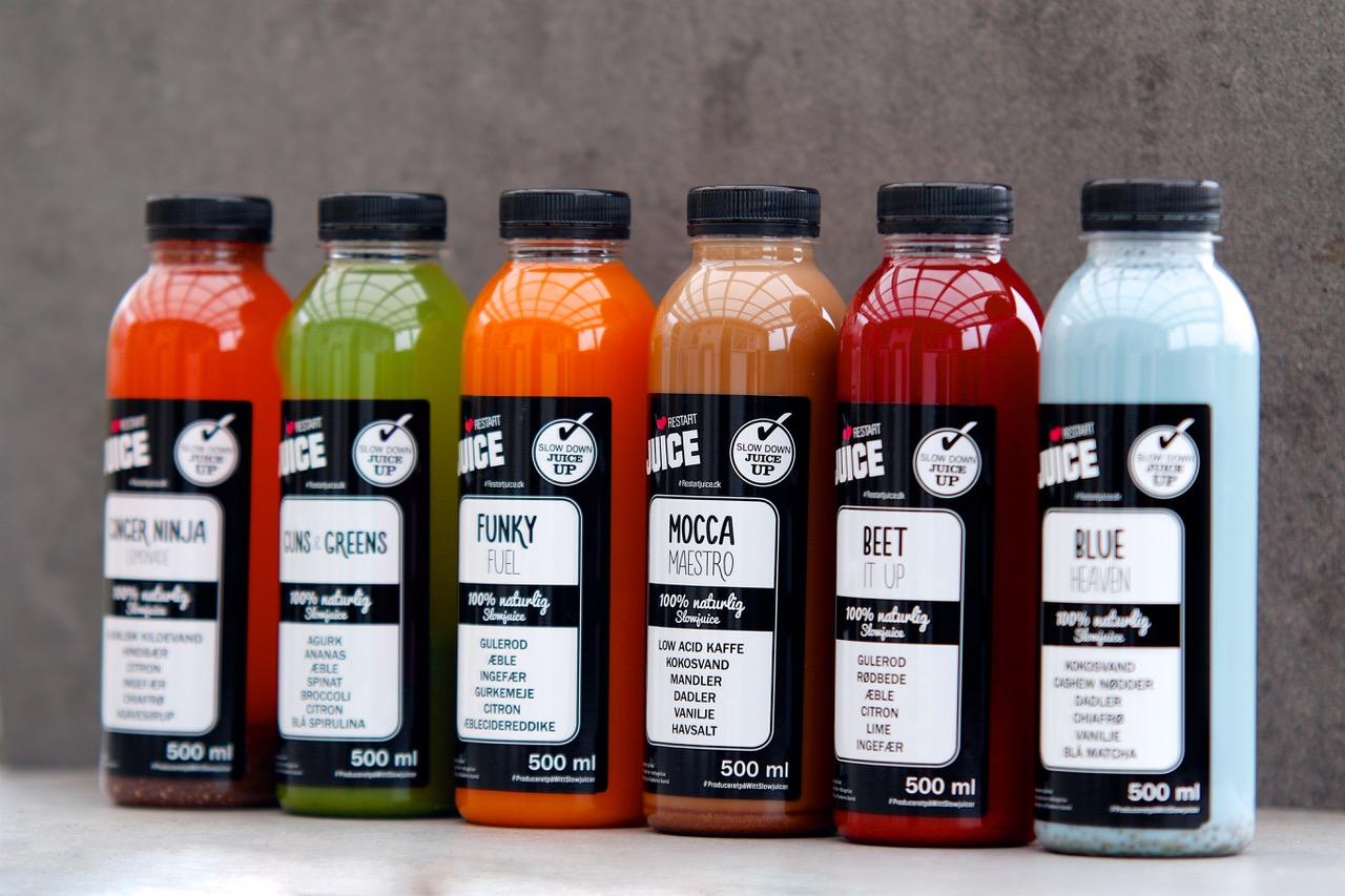 Restart Juice promotion